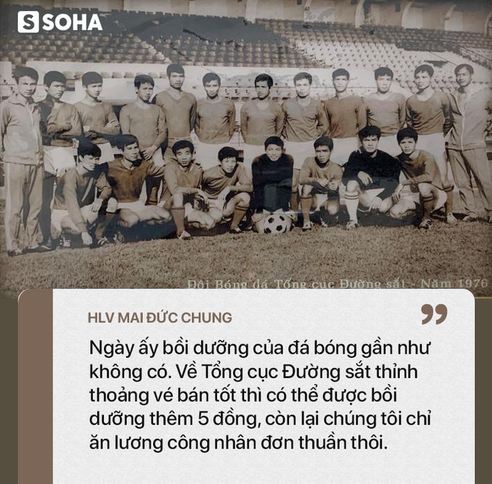 Tượng đài bóng đá Việt: Đôi giày đinh tự chế đâm ngược thủng chân, chảy bê bết máu - Ảnh 4.