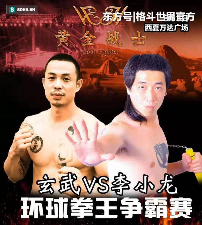 """Trận đấu kỳ lạ: Võ sư Vịnh Xuân đem côn nhị khúc lên đài hòng """"đánh vỡ đầu"""" đối thủ - Ảnh 1."""