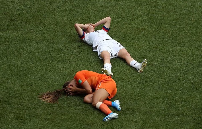 Tuyển Mỹ lập kỷ lục vô địch World Cup nữ - Ảnh 2.
