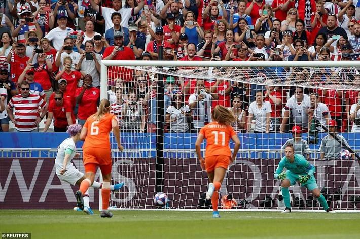 Tuyển Mỹ lập kỷ lục vô địch World Cup nữ - Ảnh 7.
