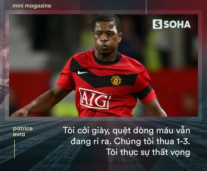 Patrice Evra: Lời sấm đêm vô địch Champions League của Sir Alex khiến Man United bất tử - Ảnh 5.