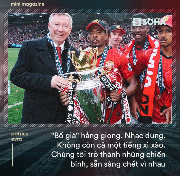 Patrice Evra: Lời sấm đêm vô địch Champions League của Sir Alex khiến Man United bất tử - Ảnh 7.
