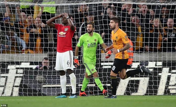 Pogba đá hỏng penalty, Man United đánh rơi chiến thắng trước Bầy sói - Ảnh 4.
