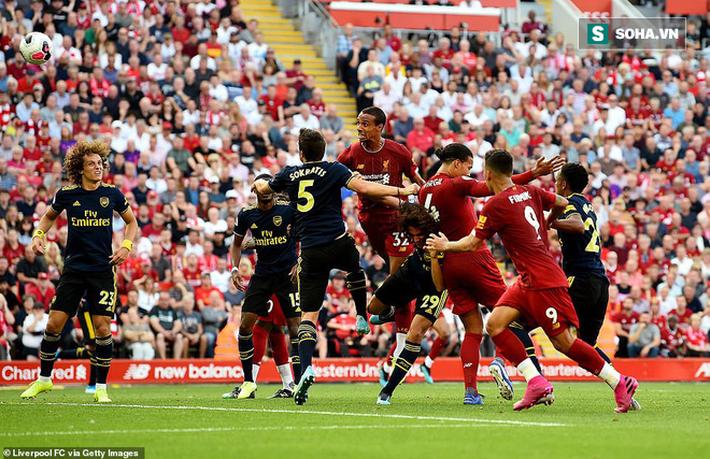 Hạ Arsenal ở đại chiến, Liverpool nghễu nghện độc chiếm ngôi đầu Premier League - Ảnh 1.