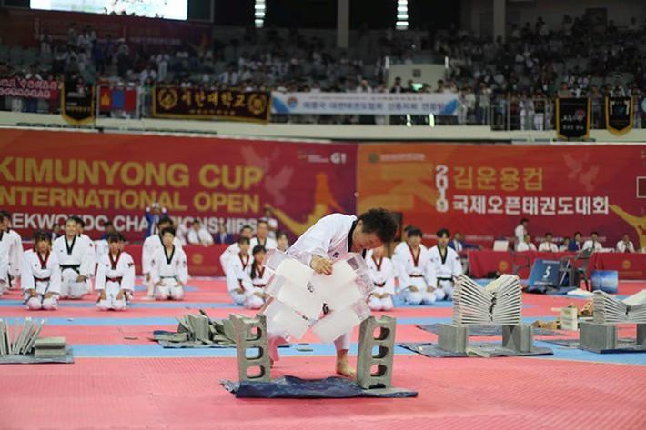 Tròn mắt xem đại sư Taekwondo dùng tay không chém 3 khối nước đá - Ảnh 6.