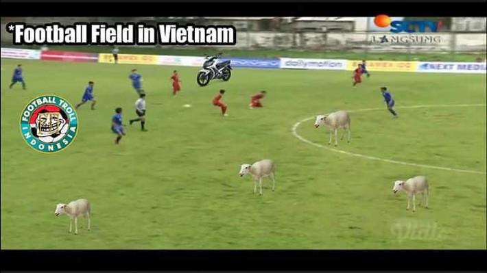 LĐBĐ Indonesia khiếu nại lên AFF vụ sân chăn bò của Việt Nam tại giải U18 Đông Nam Á - Ảnh 1.