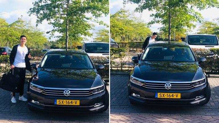 Đoàn Văn Hậu được SC Heerenveen cấp xe riêng giá bằng 1 tháng lương - Ảnh 1.