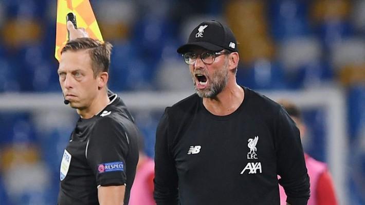 Liverpool thua bẽ bàng ra quân C1, Klopp chất vấn trọng tài - Ảnh 1.