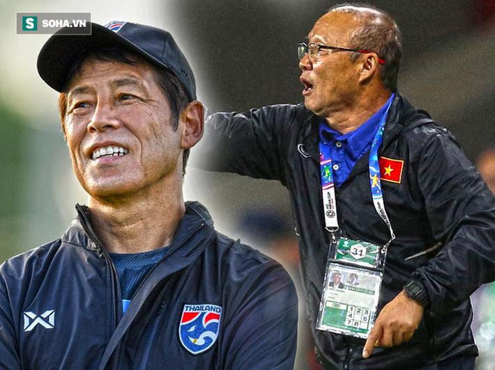 Sau pha kiến tạo sắc lẹm, Messi Thái hé lộ điểm trái ngược giữa HLV Nishino và thầy Park - Ảnh 2.