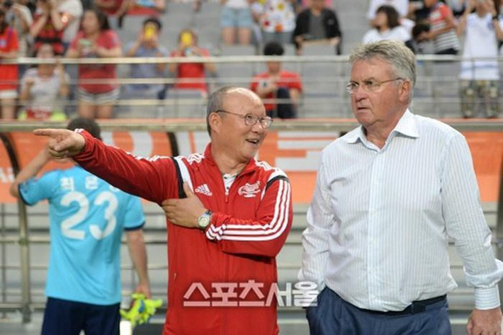 HLV Guus Hiddink: Tôi háo hức gặp lại HLV Park Hang Seo - Ảnh 2.
