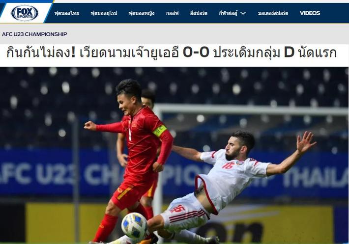 Báo Thái Lan: U23 Việt Nam đã gặp may khi thoát thua nhờ VAR - Ảnh 2.