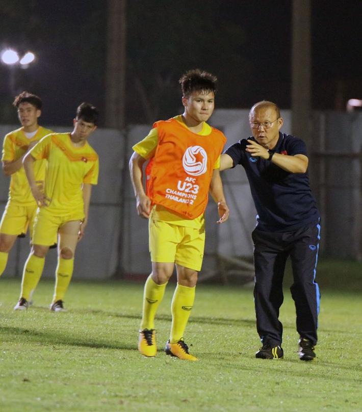 U23 Việt Nam làm điều trái ngược với Jordan, thầy Park lưu tâm đặc biệt tới Quang Hải - Ảnh 7.