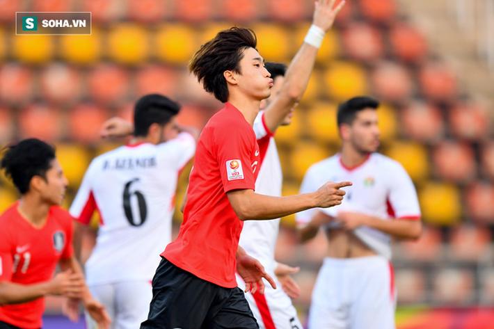 Tái hiện chung kết Thường Châu của U23 Việt Nam, Hàn Quốc vào bán kết siêu kịch tính - Ảnh 1.