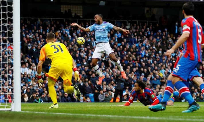 Sergio Aguero ghi bàn thứ 250, Man City rơi chiến thắng sân nhà  - Ảnh 1.