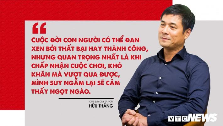 Chủ tịch Hữu Thắng: Người đàn ông thép và cuộc hồi sinh biểu tượng bóng đá TP.HCM - Ảnh 2.