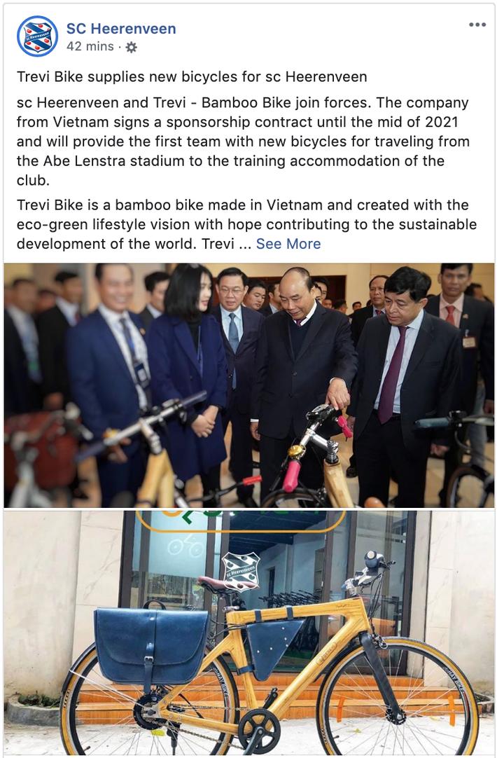 Từ hiệu ứng Văn Hậu, Heerenveen chính thức ký hợp đồng thương mại đầu tiên từ Việt Nam - Ảnh 1.
