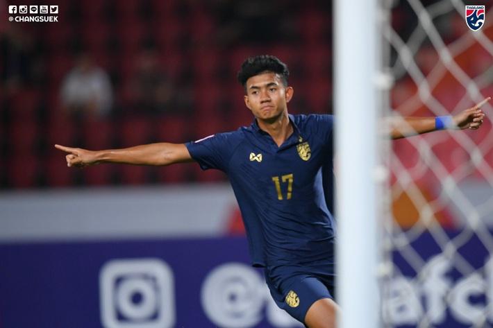 Nhấn chìm Bahrain trong mưa bàn thắng, U23 Thái Lan khởi đầu mĩ mãn tại giải U23 châu Á - Ảnh 1.