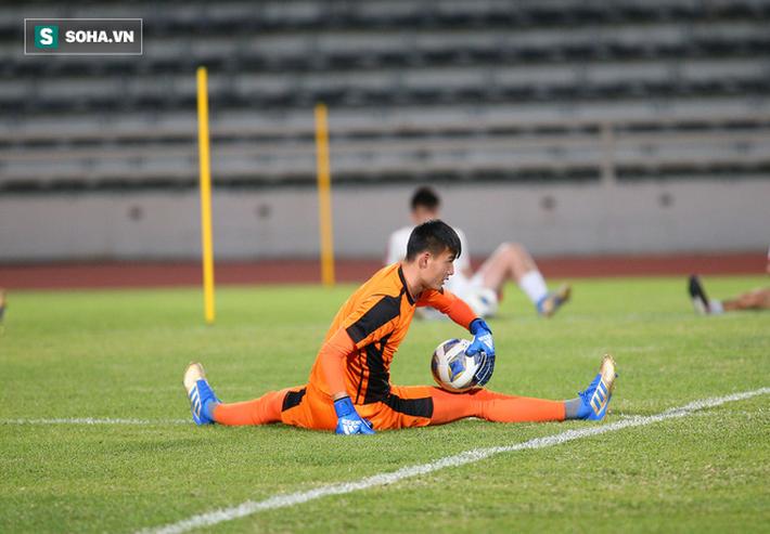 U23 Triều Tiên luyện tập nghiêm khắc, cầu thủ mắc lỗi lập tức phải chịu phạt - Ảnh 1.