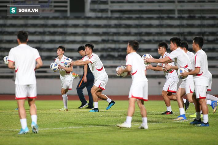 U23 Triều Tiên luyện tập nghiêm khắc, cầu thủ mắc lỗi lập tức phải chịu phạt - Ảnh 5.