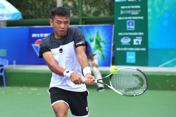 Hoàng Nam ngược dòng thắng ở giải quần vợt Ai Cập  - Ảnh 1.