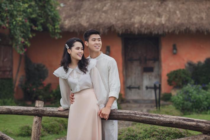 Duy Mạnh tung bộ ảnh cưới mới, lãng mạn, tình tứ bên Quỳnh Anh - Ảnh 12.