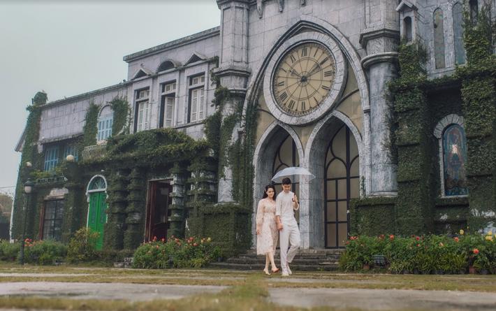 Duy Mạnh tung bộ ảnh cưới mới, lãng mạn, tình tứ bên Quỳnh Anh - Ảnh 6.