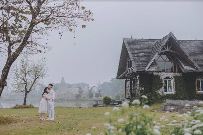 Duy Mạnh tung bộ ảnh cưới mới, lãng mạn, tình tứ bên Quỳnh Anh - Ảnh 10.