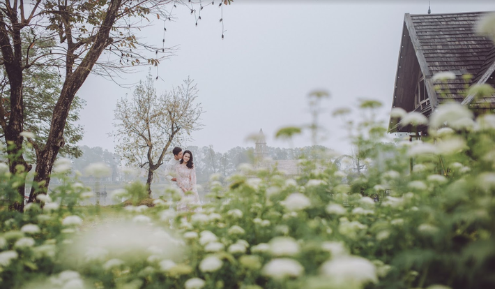 Duy Mạnh tung bộ ảnh cưới mới, lãng mạn, tình tứ bên Quỳnh Anh - Ảnh 11.