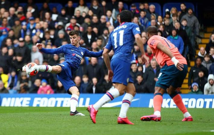 Đá như lên đồng, Chelsea vùi dập Everton - Ảnh 1.