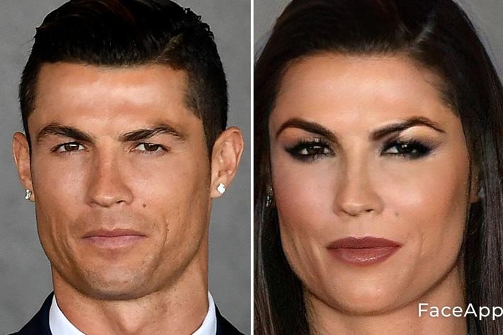 Chùm ảnh: Ronaldo, Messi đầy quyến rũ trong phiên bản... con gái - Ảnh 1.