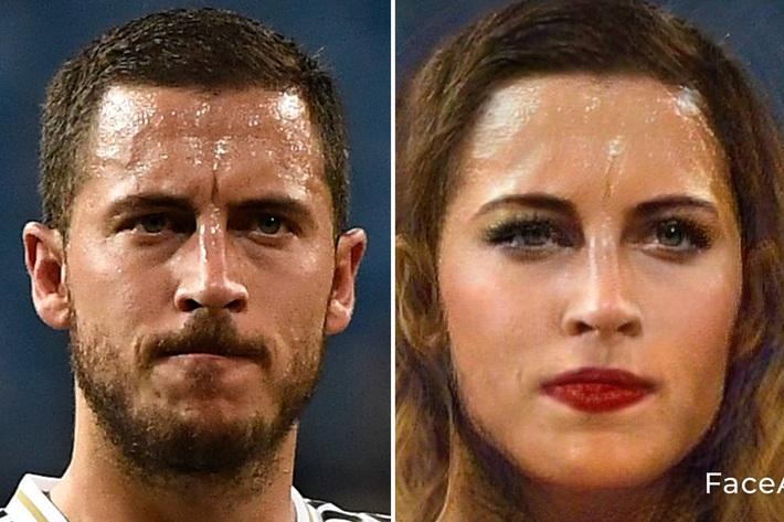 Chùm ảnh: Ronaldo, Messi đầy quyến rũ trong phiên bản... con gái - Ảnh 12.