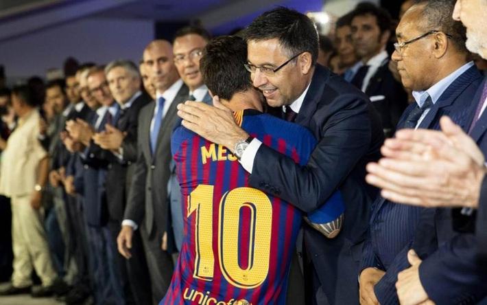 Đau cho Messi: Kỷ nguyên huy hoàng của Barca bị ...đốt một giờ bởi cuộc chiến vương quyền - Ảnh 3.