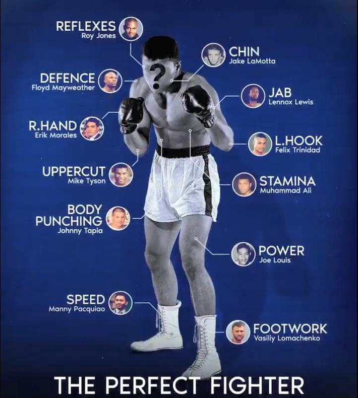 'Chiến binh hoàn hảo' đấm móc giống Mike Tyson, chịu đòn như Muhammad Ali - Ảnh 1.