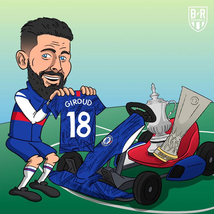 Biếm họa 24h: Chelsea nhanh tay trói chân gà son Olivier Giroud - Ảnh 1.