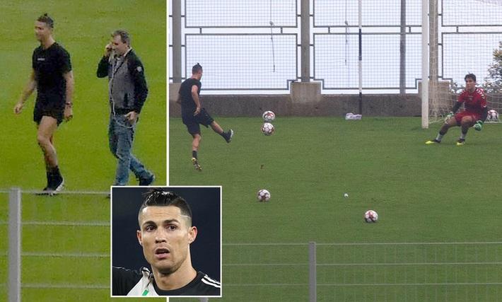 Thủ môn 18 tuổi kể chuyện đi tập với Cristiano Ronaldo trong mùa dịch - Ảnh 1.