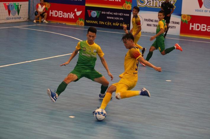 Futsal HDBank VĐQG 2020: Khánh Hòa ém quân, Quảng Nam thắng nhàn - Ảnh 1.