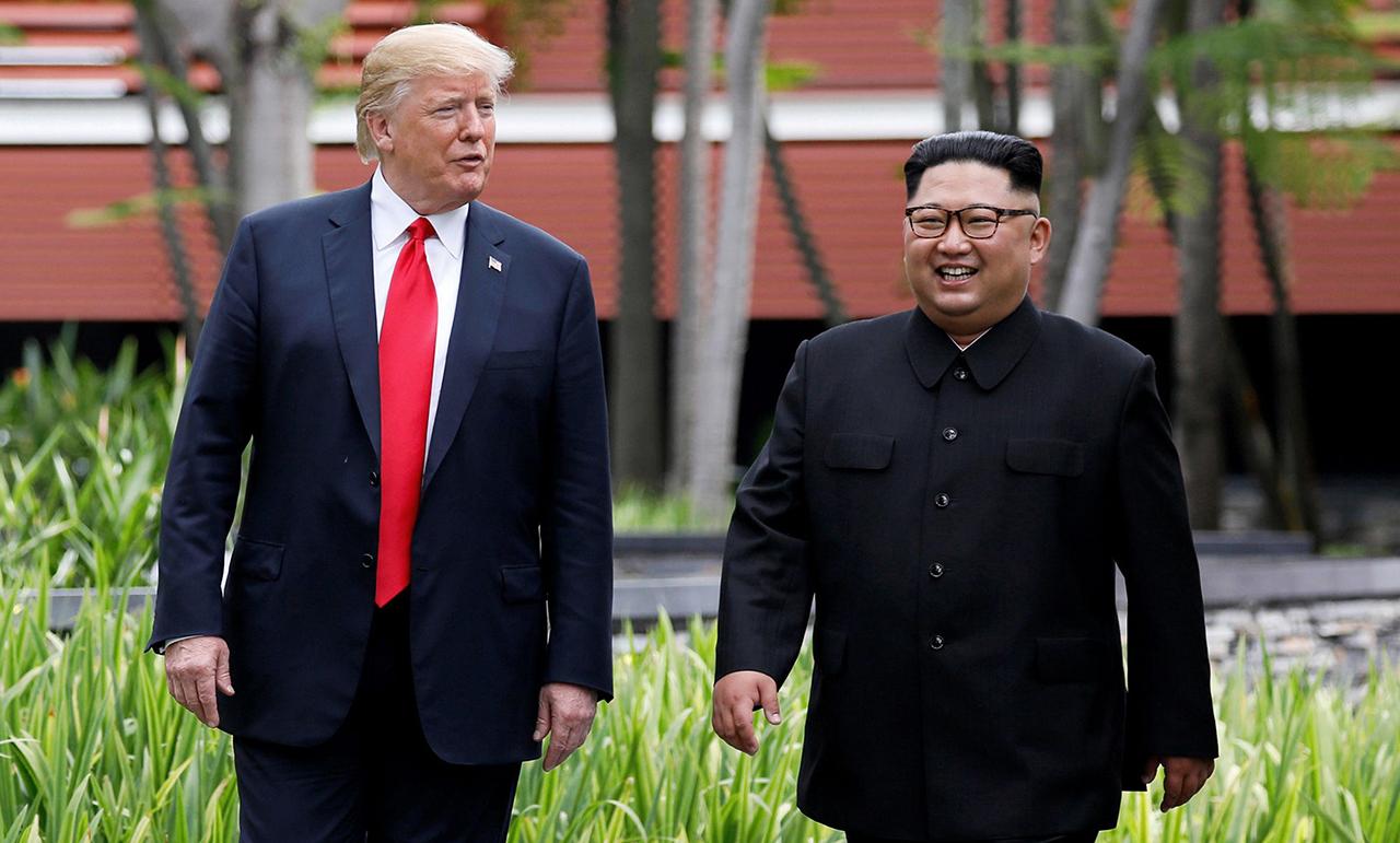 Thượng đỉnh Mỹ - Triều lần thứ nhất