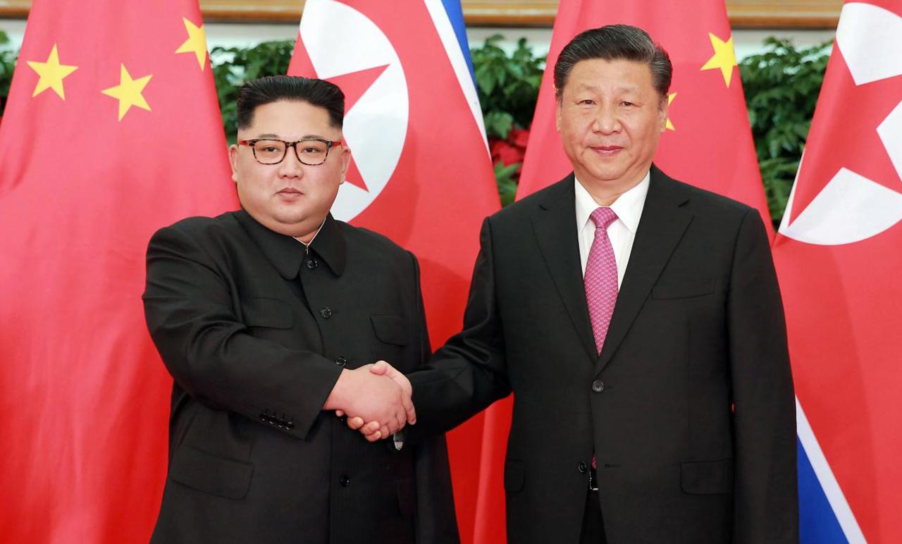 Ông Kim Jong-un thăm Trung Quốc lần thứ ba