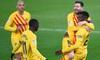 Messi kiến tạo điệu nghệ, giữ Barca trên đường đua vô địch; Man United mất ngôi nhì bảng