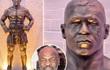 Fan bất ngờ khi chứng kiến bức tượng cao 3m được làm riêng cho Mike Tyson