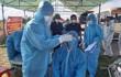 Lấy mẫu xét nghiệm định kỳ, phát hiện 2 nữ điều dưỡng ở Nghệ An nhiễm SARS-CoV-2