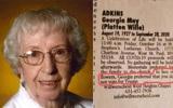 Cụ bà 93 tuổi qua đời, để lại di nguyện