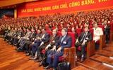 Chiều 27/1, đại biểu tiếp tục thảo luận về văn kiện đại hội tại hội trường