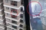Người hùng cứu bé gái rơi từ tầng 12