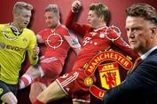 Van Gaal và nhiệm vụ tại Man United