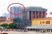 Kiểm tra gấp tòa nhà cao vọt gần Lăng Bác