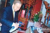 Ông Ban Ki-moon và dòng họ Phan Huy