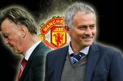 Mourinho thay Van Gaal tại Man United