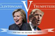 Tranh luận trực tiếp Clinton-Trump