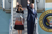 Tổng thống Mỹ Donald Trump công du 5 nước châu Á